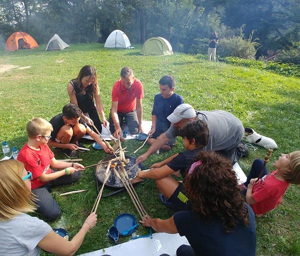 Notte in tenda per Bambini e Famiglie